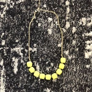Neon and gold simple necklace